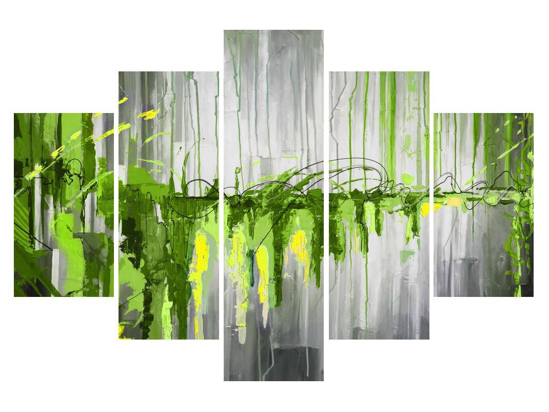Abstraktní obraz - malba (K014961K150105)