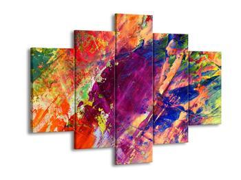 Abstraktní barevný obraz (F000005F150105)