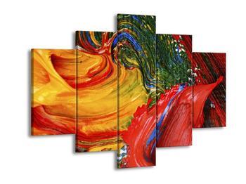 Abstraktní barevný obraz (F000010F150105)
