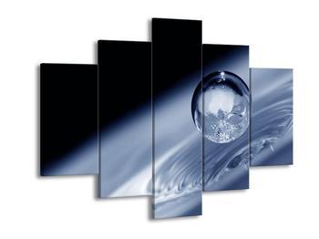 Dekorativní obraz - kapka (F000038F150105)