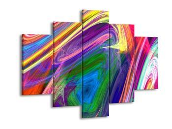 Abstraktní barevný obraz (F000070F150105)