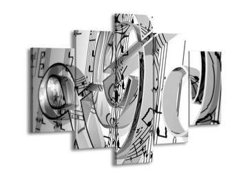 Obraz houslového klíče  (F000071F150105)