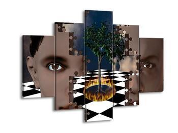 Obraz - skryto v puzzlích (F000120F150105)