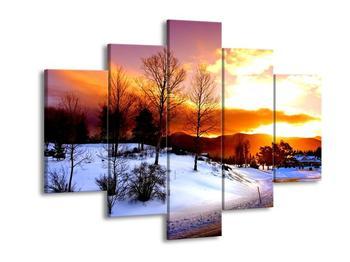 Obraz zimní krajiny (F000192F150105)