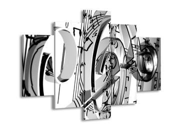 Moderní obraz houslového klíče (F000206F150105)