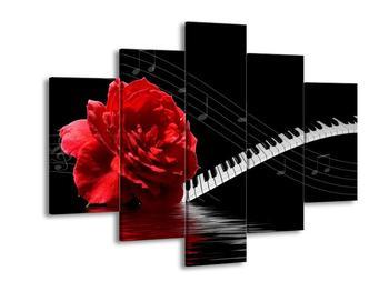 Obraz s hudebními prvky (F000207F150105)