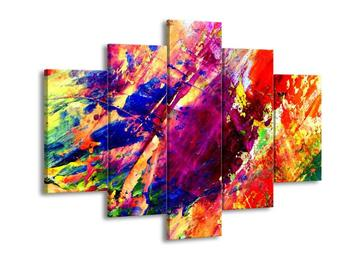 Abstraktní barevný obraz (F000236F150105)