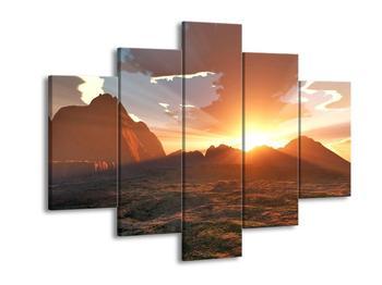 Obraz západu slunce (F000462F150105)