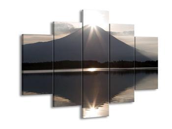 Obraz hory a slunce (F000521F150105)