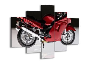Obraz červené motorky (F000532F150105)