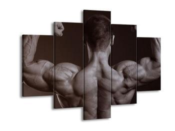 Obraz svalnatého muže (F000633F150105)