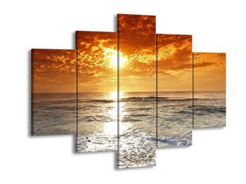 Obraz moře a západu slunce (F000643F150105)