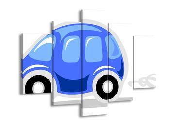 Obraz modrého autíčka (F000733F150105)