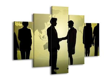 Obraz uzavření dohody dvou lidí  (F000734F150105)