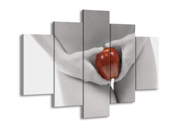 Obraz jablka v lůnu (F000749F150105)