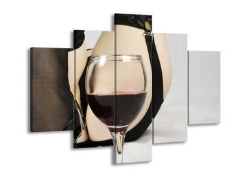 Obraz sklenice vína (F000787F150105)
