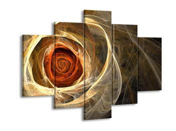 Abstraktní obraz růže (F000793F150105)