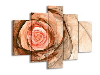 Abstraktní obraz - růže (F000794F150105)