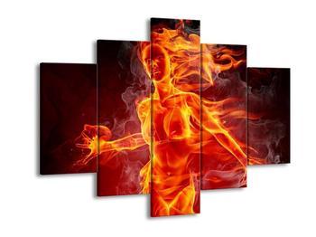 Obraz ohnivé ženy (F000801F150105)