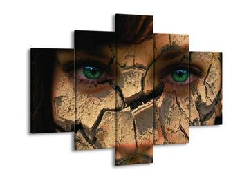 Obraz rozpadající se tváře (F000834F150105)