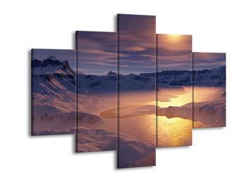 Krásný obraz zimní krajiny (F000939F150105)