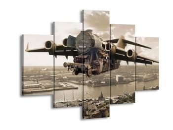 Obraz létající lokomotivy (F000978F150105)