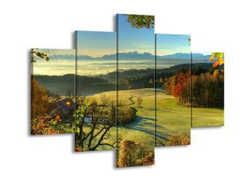 Krásný obraz podzimní krajiny (F001043F150105)