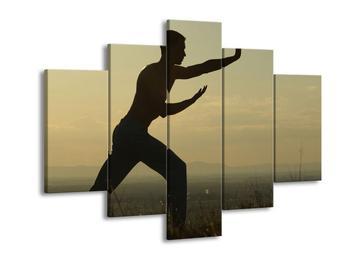 Obraz siluety muže (F001108F150105)