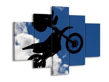 Obraz akrobata na motorce (F001117F150105)