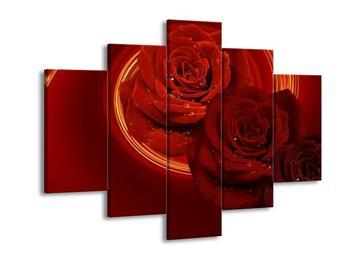 Obraz rudých růží (F001254F150105)