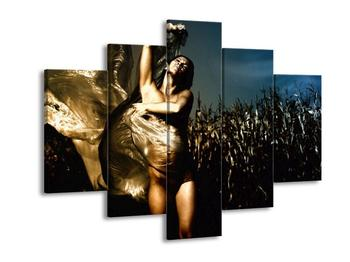Obraz ženy zahalené v šátku (F001367F150105)
