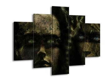Obraz děsivých obličejů (F001426F150105)