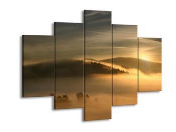 Obraz hor v mlze (F001451F150105)