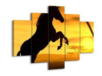 Obraz siluety koně (F001482F150105)