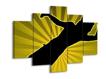 Abstraktní žlutý obraz (F001525F150105)