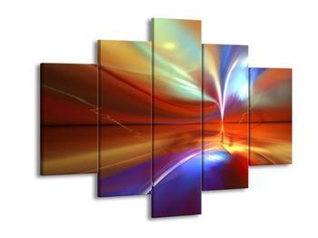 Barevný abstraktní obraz (F001530F150105)