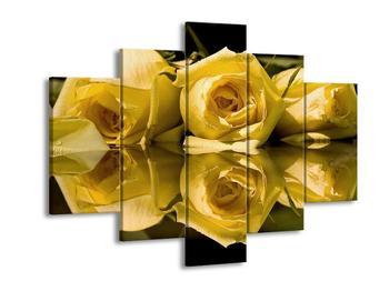 Obraz žluté růže (F001549F150105)