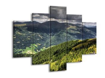 Obraz horského údolí (F001635F150105)