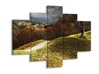 Obraz podzimního pahorku (F001650F150105)