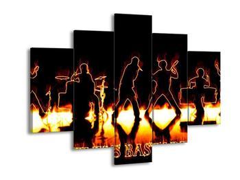 Obraz ohnivé kapely (F001663F150105)