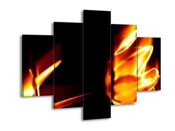 Abstraktní obraz ohně (F001668F150105)