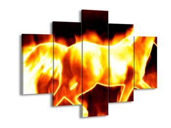 Obraz ohnivého koně (F001675F150105)