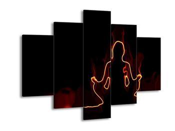 Obraz meditující ženy (F001676F150105)