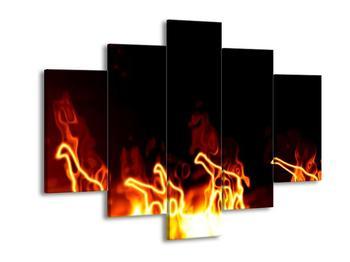 Obraz ohnivých žiraf (F001683F150105)
