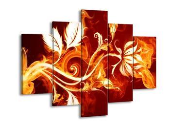 Obraz ohnivé květiny (F001690F150105)