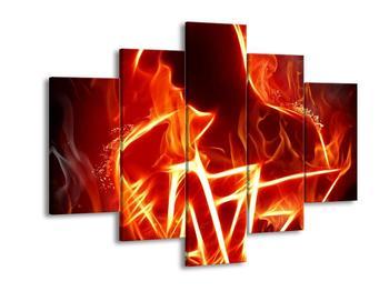 Obraz ohnivé postavy (F001691F150105)