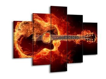 Obraz kytary (F001692F150105)