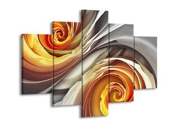 Abstraktní obraz - spirál (F001693F150105)