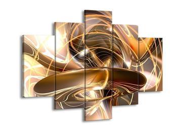 Moderní obraz - zlaté (F001702F150105)