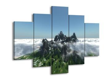 Obraz skalnaté hory (F001716F150105)